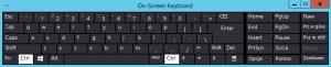Hyper-V On-Screen Keyboard