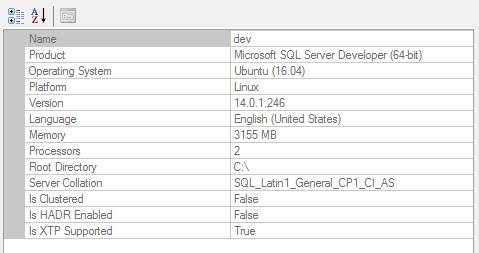 mssql-linux-ssms-properties